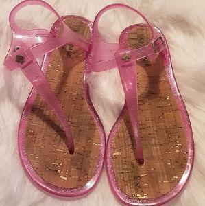 Kate Spade New York Jelly sandal size 8.